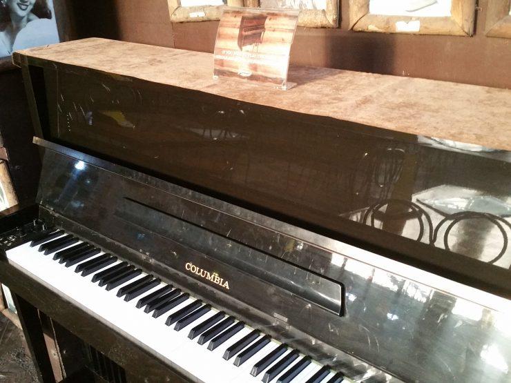 パン・デ・アメリカーナのピアノ