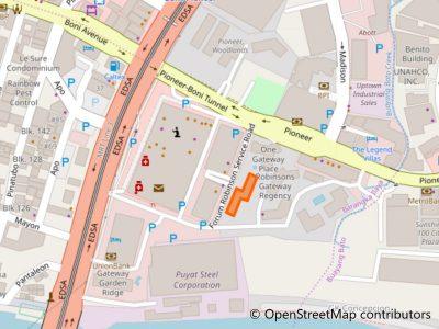 ゲートウェイ・ガーデンハイツ地図