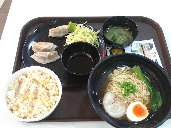 醤油ラーメン+チャーハン+餃子