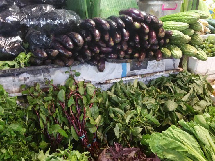 ファーマーズマーケットのお野菜