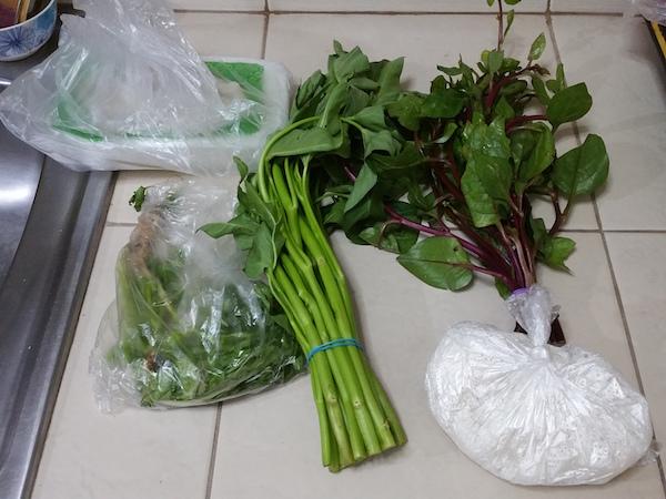 パクチー、その他野菜