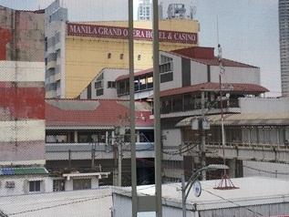 遠目のマニラグランドオペラホテル