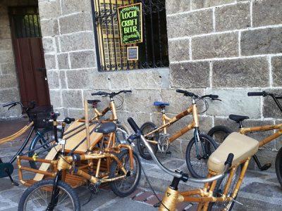 竹製自転車