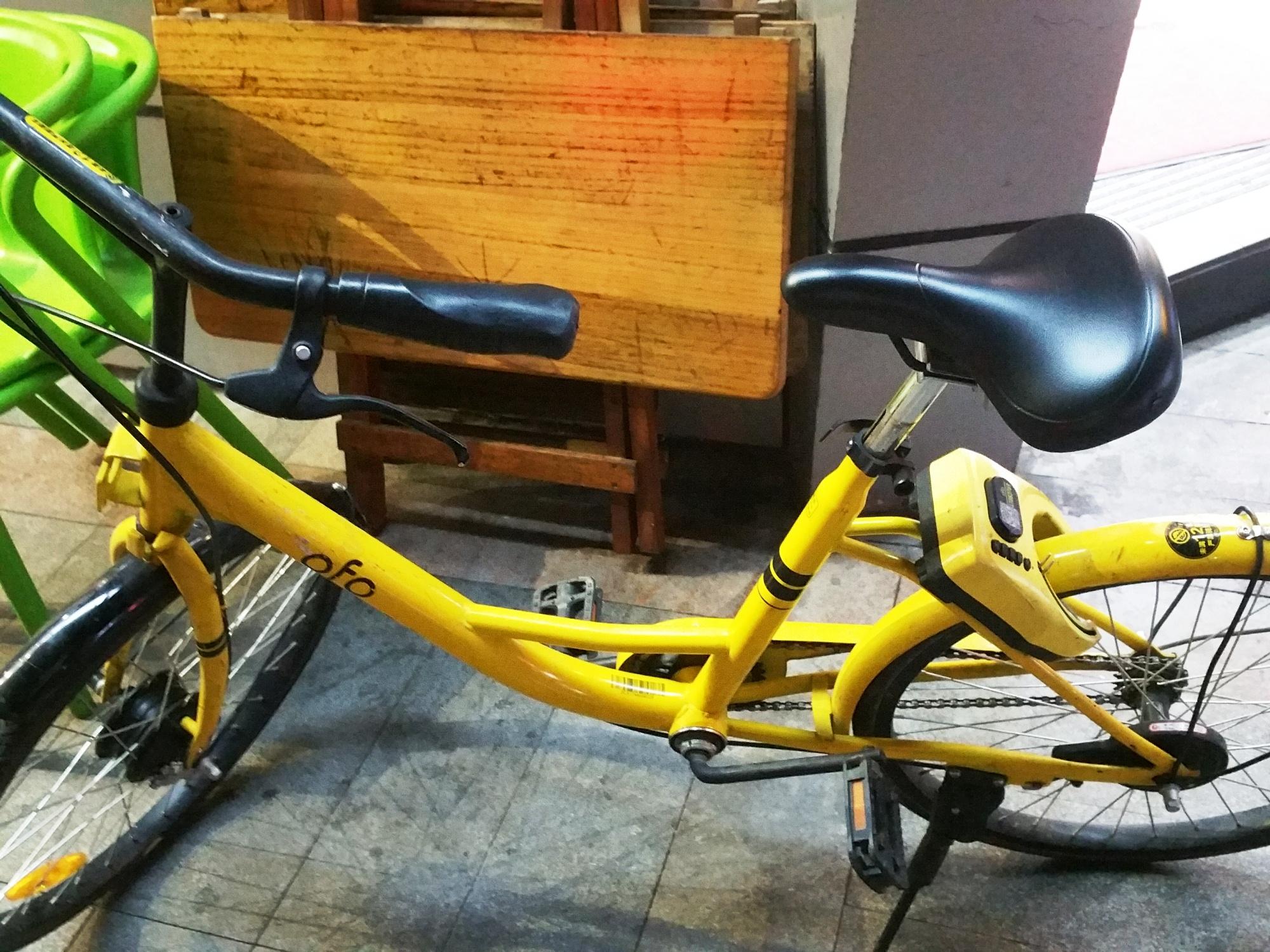 ofo(オフォ)のレンタル自転車