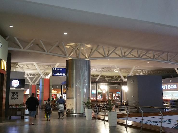 クアラルンプール空港出発ロビー3階