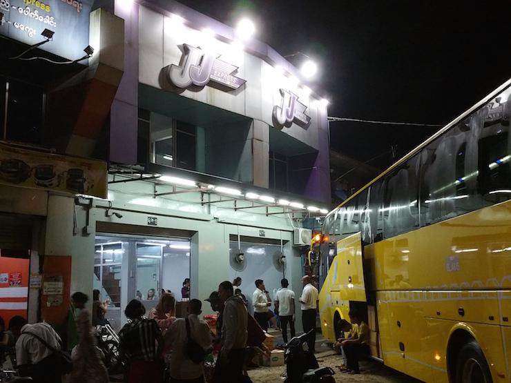 JJのバス乗り場