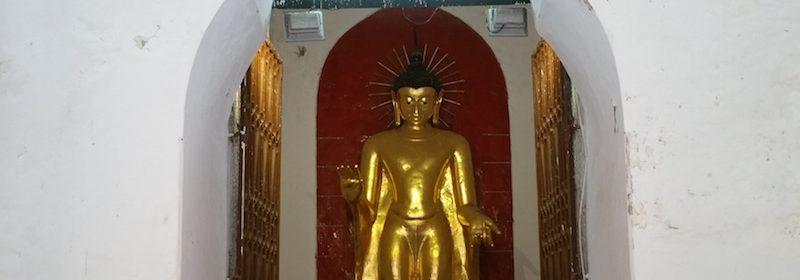 シュエズィーゴン・パゴダの黄金像