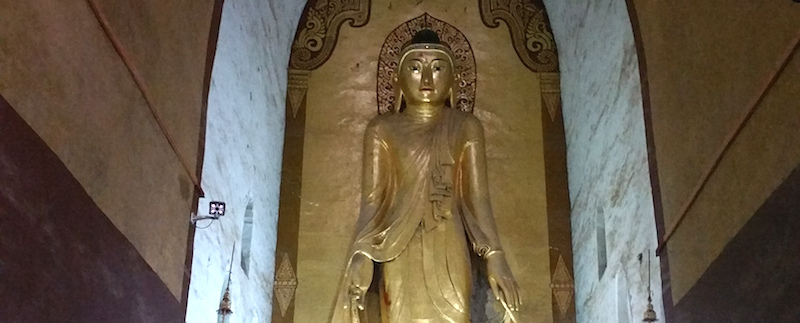 アーナンダ寺院の拘那含牟尼