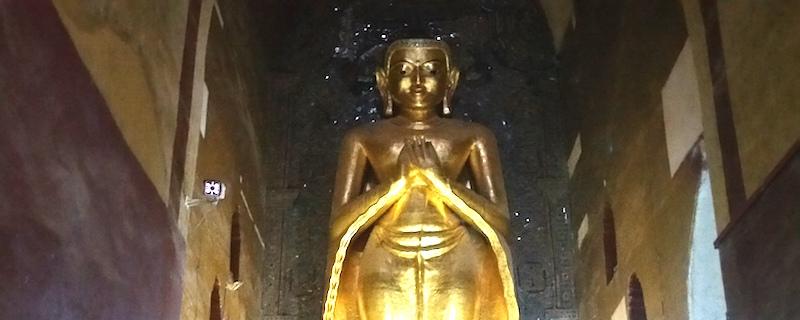 アーナンダ寺院の拘留孫仏
