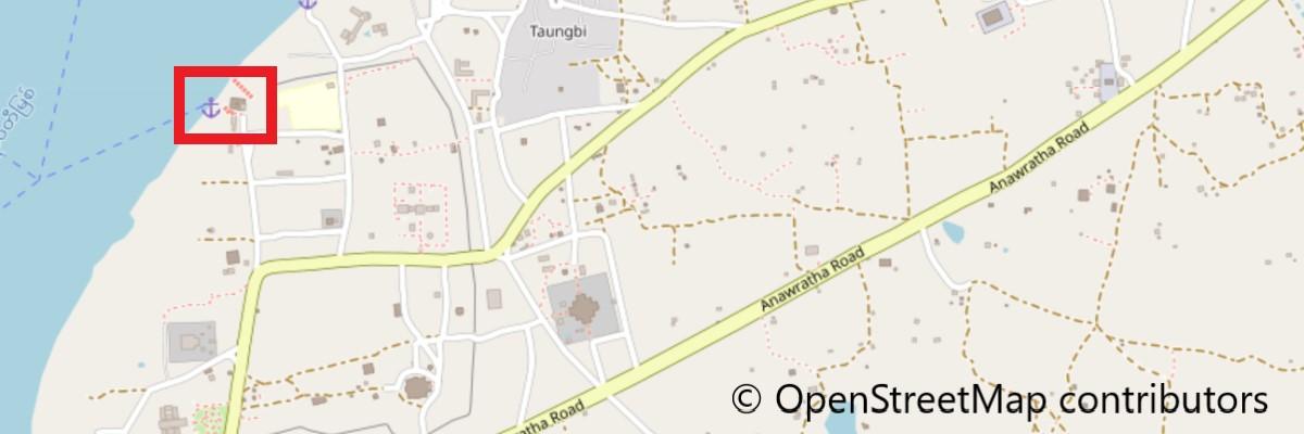 ブーパヤー地図