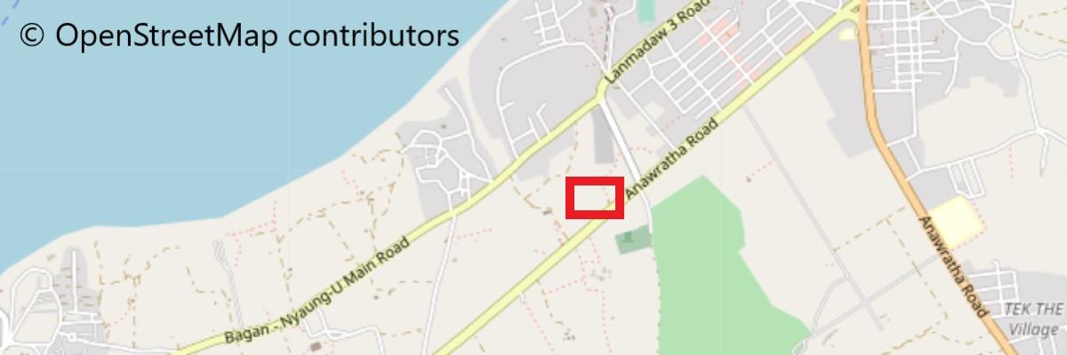 グービャウジー寺院地図