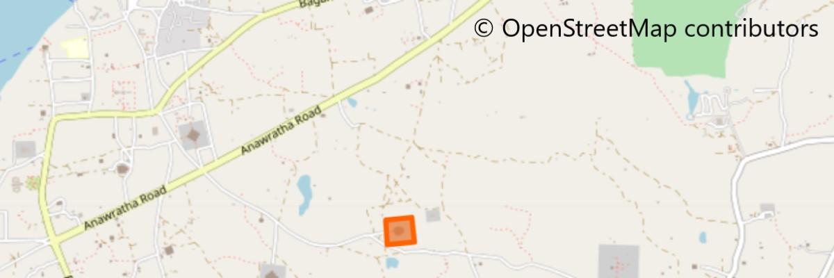 スラマニ寺院地図