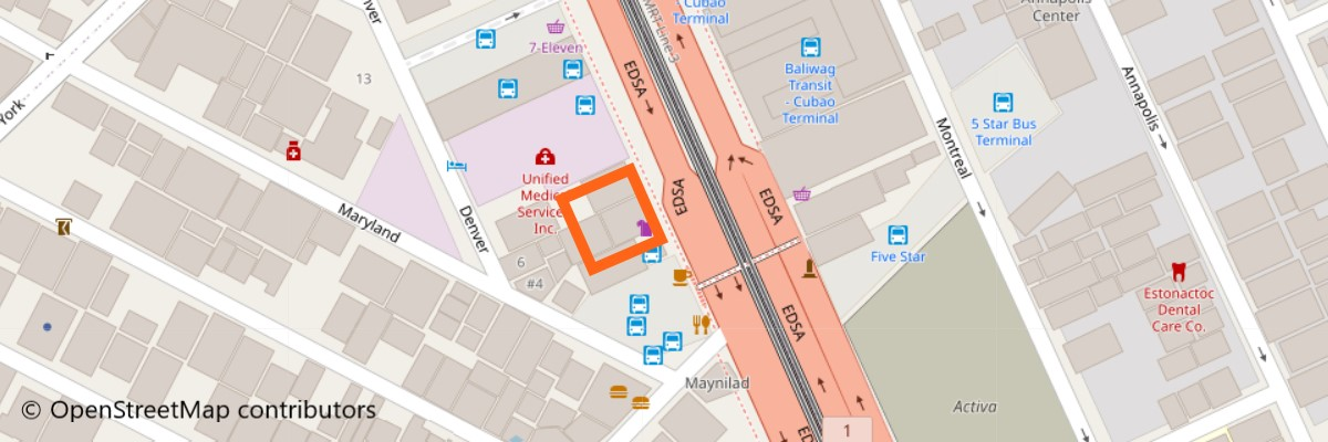 レイモンドバス地図