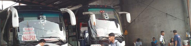 バスの正面ウインドウ