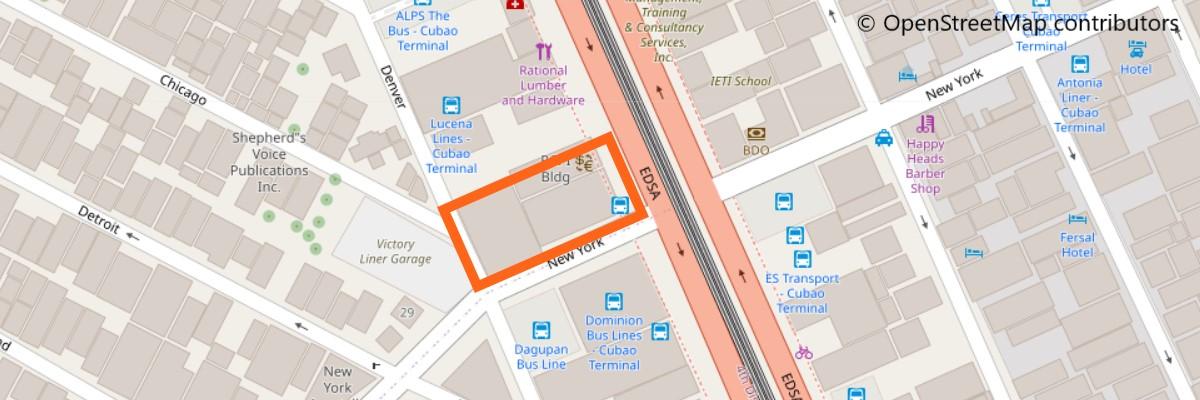 ダグパンバスの地図