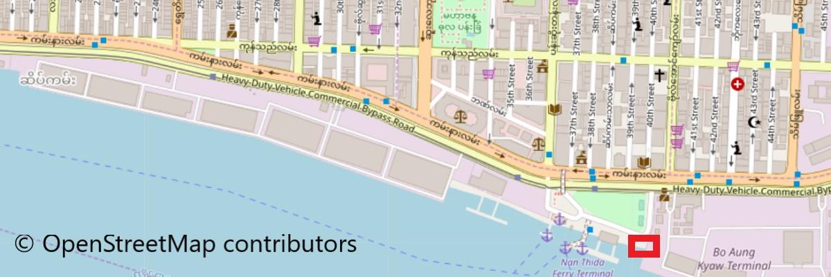 ポンポン線乗り場地図