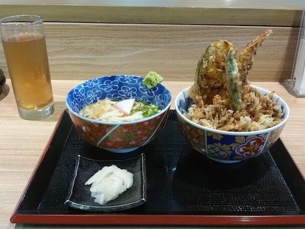 天丼ランチスペシャル