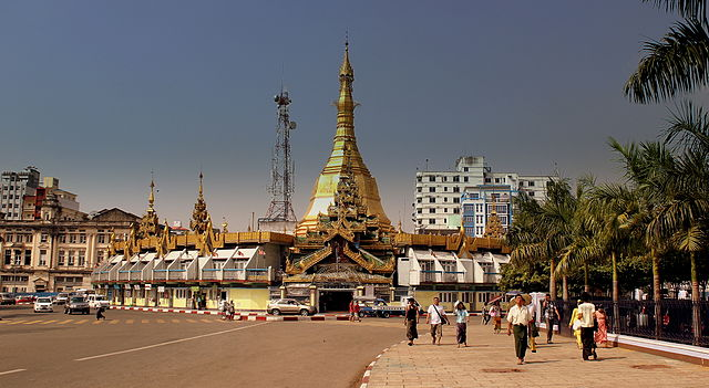 スレーパゴダ(Sule Pagoda)