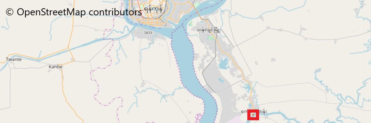 イェレーパゴダ地図