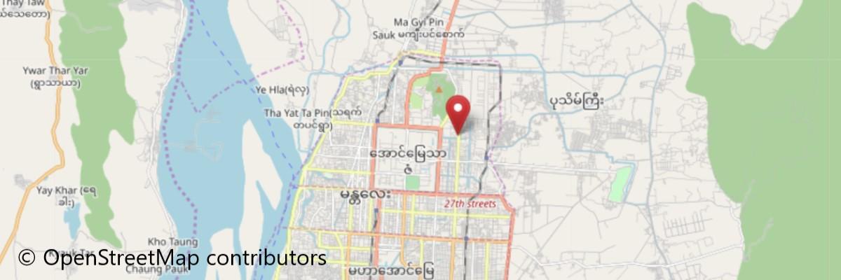 シュエナンドー僧院地図