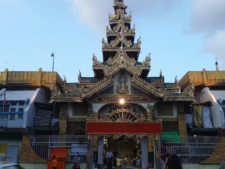 South gate of Sule Pagoda