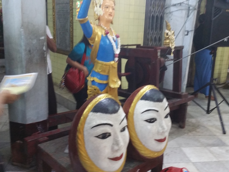 Sule Pagoda Figurine