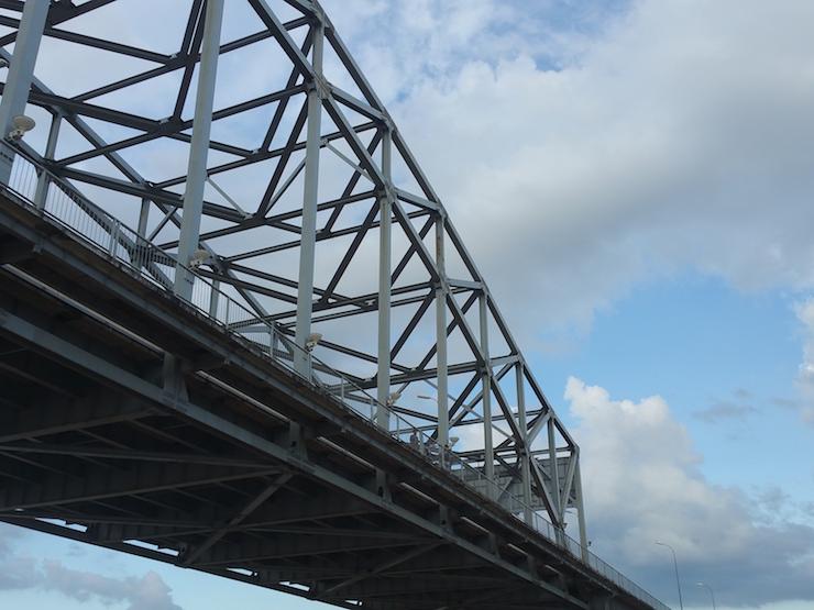 ヤンゴン川の橋