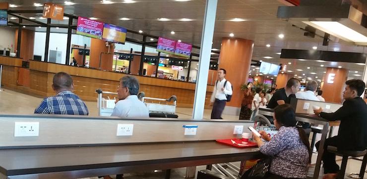 Yangon Airport KFC