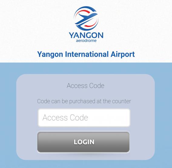 Yangon Airport Wi-Fi