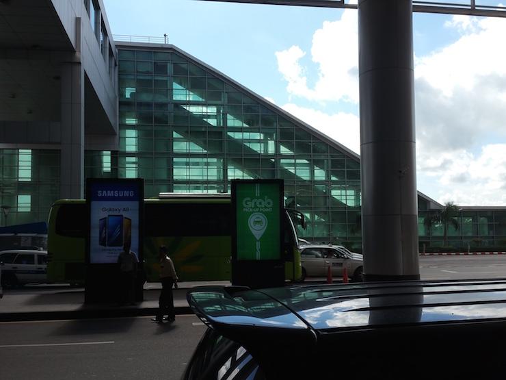 Yangon Airport Grab Stop
