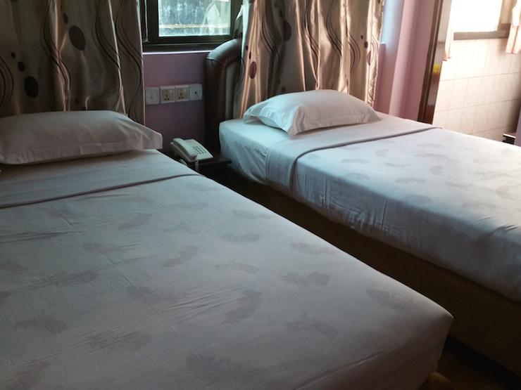 Twin room at Royal 74 Hotel