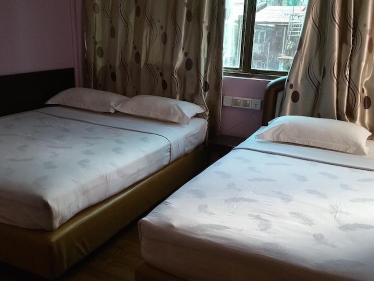 ロイヤル74ホテルのツインルーム