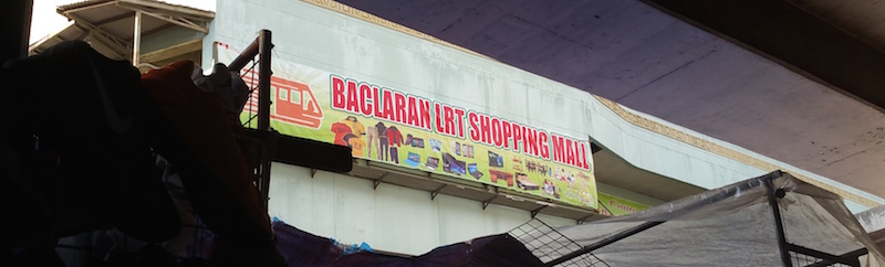 BACLARAN LRTショッピングモール