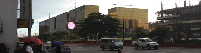 シティオブドリームスマニラ外観