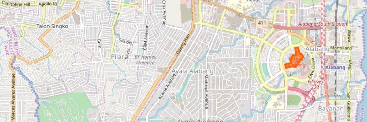 KOBEクリニックの地図