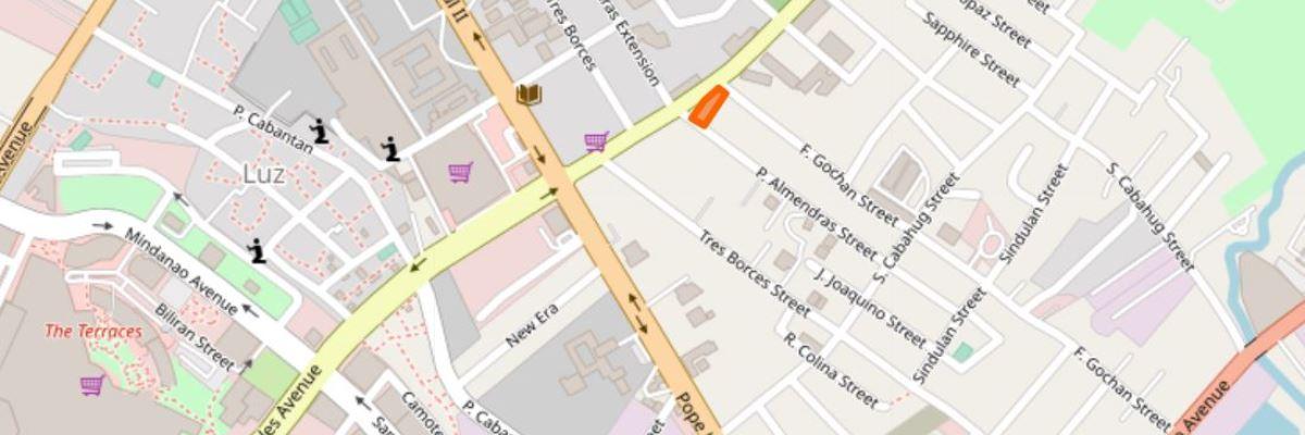 サクラデンタルクリニックの地図