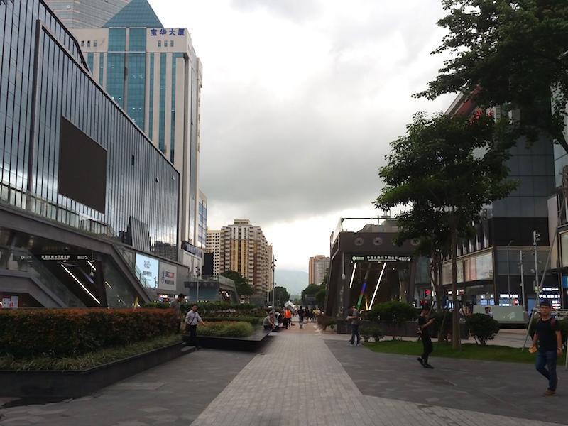 華強北通り