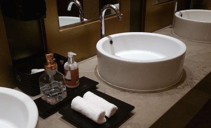 洗面所のおしぼり