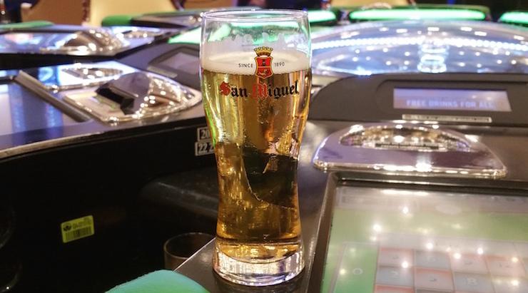 無料のビール