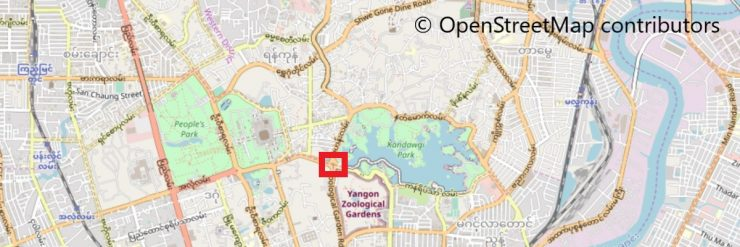 U Htaung Bo Round Aboutの地図