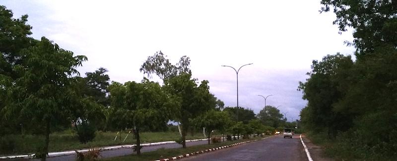 ニューバガン道路