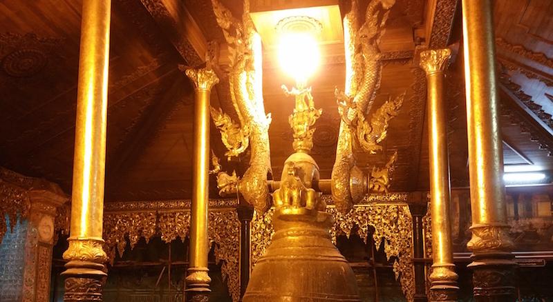 シングー王の梵鐘