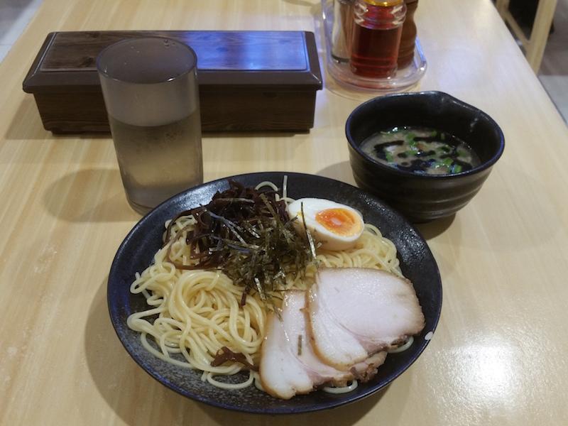 黒チャーシューつけ麺(大)