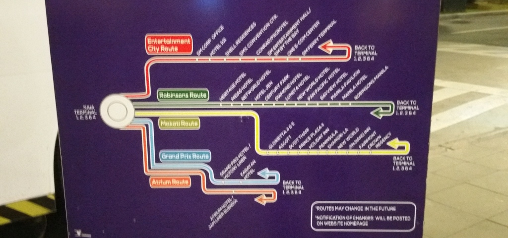 UBE EXPRESS路線図