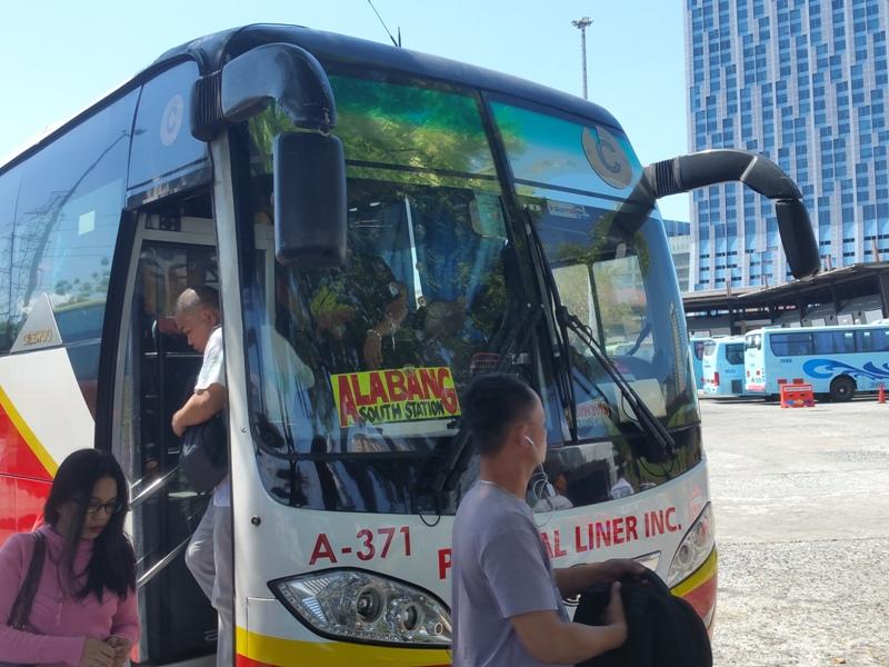 アラバンのバス