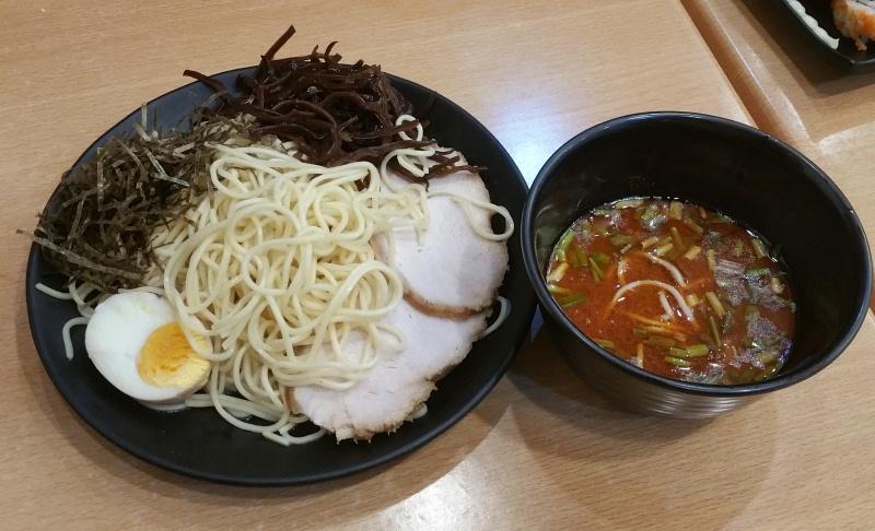 赤チャーシューつけ麺
