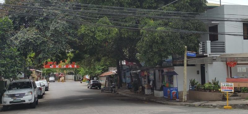 パール通りへの道