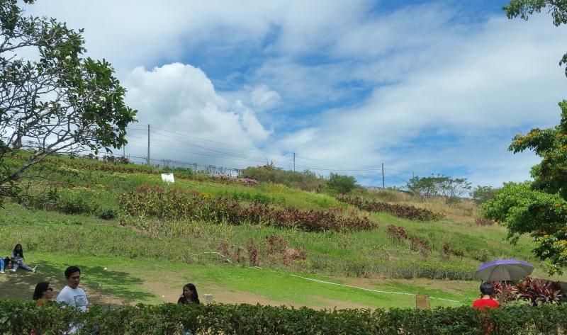 ラメサダムへの丘