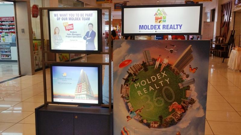 MOLDEXの営業ブース