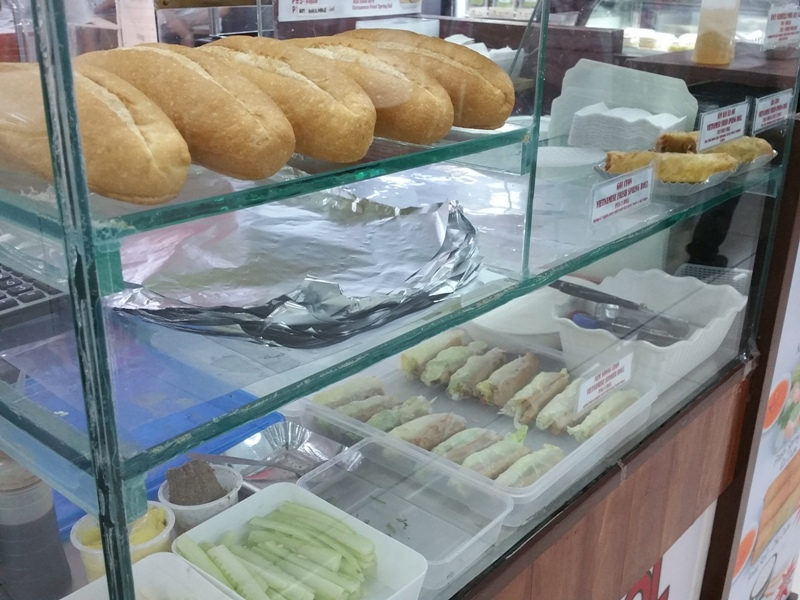 ベトナム料理店のバインミー